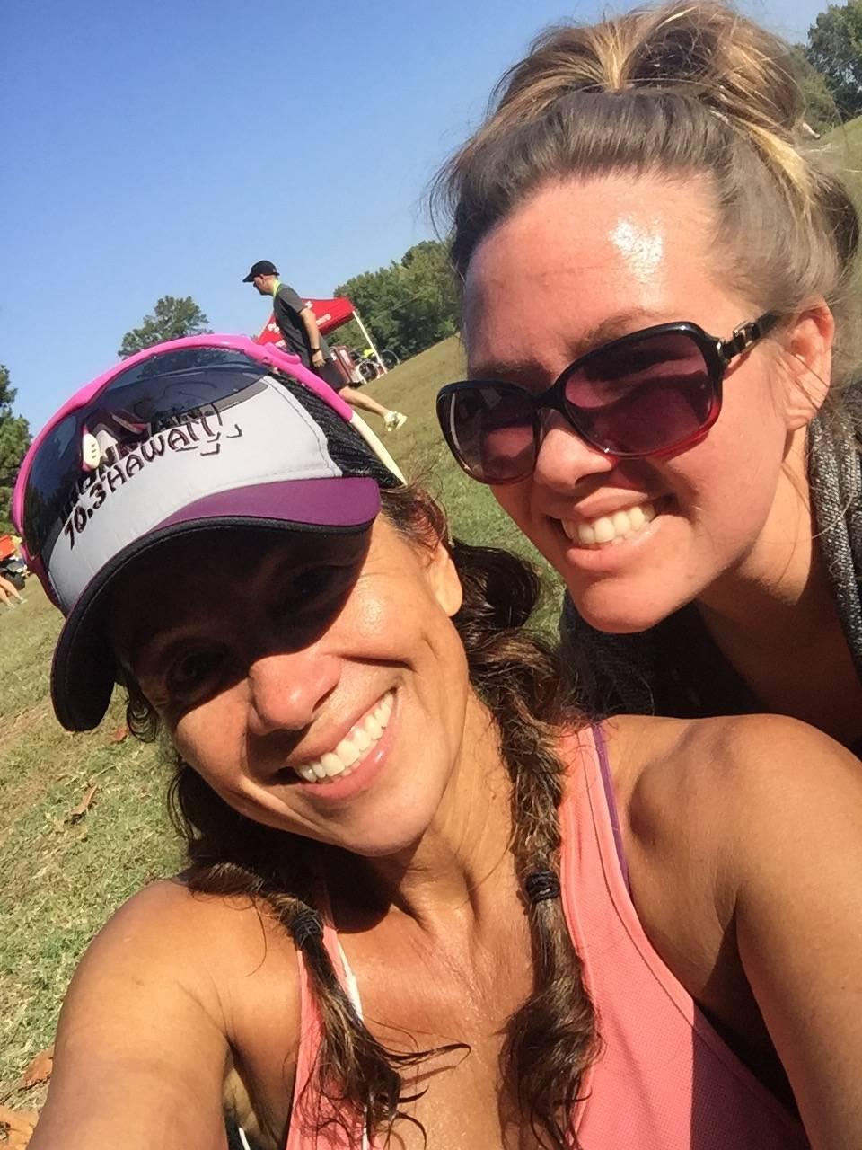 With my daughter, Jennifer at the Greenline Half Marathon