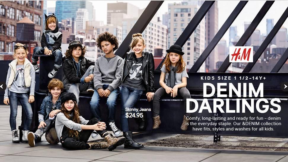 FUTURE FACES NYC H&M CAMPAIGN