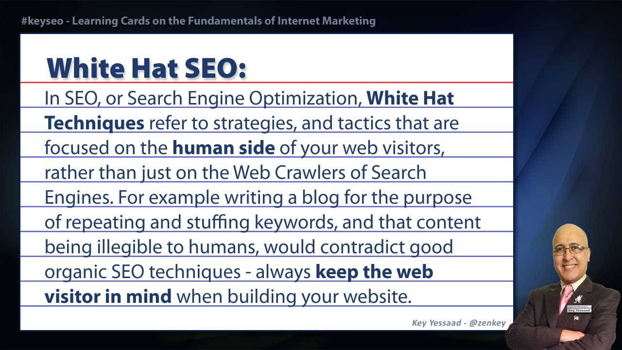White Hat SEO - Real Estate SEO Short Definition