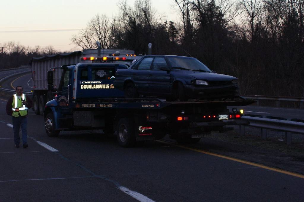 The Vehicles were removed safely