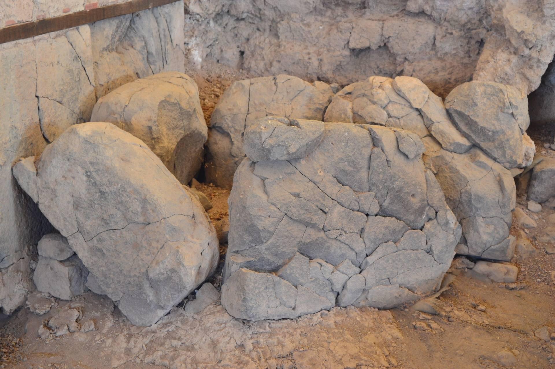 Burned Stones