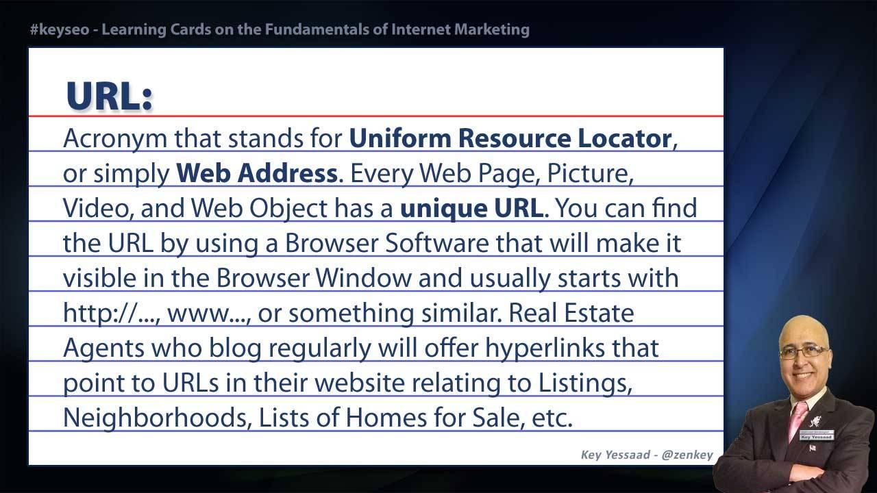 URL - SEO Short Definition for Real Estate
