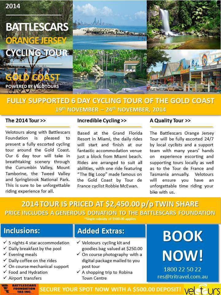 Gold Coast Cycking Tour