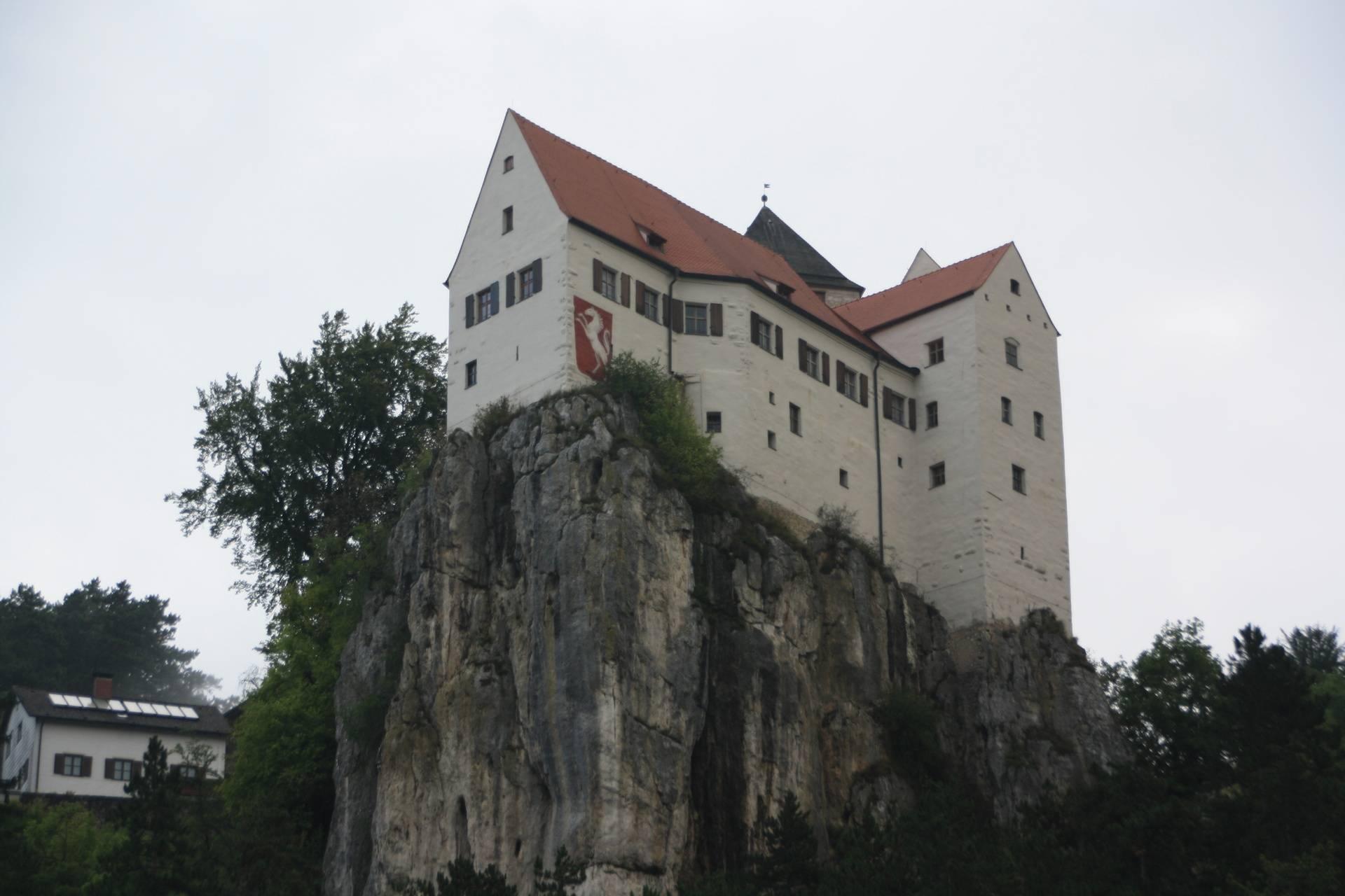 Castle on Danube