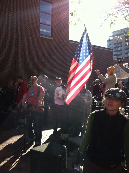 Occupy Iowa City Rally