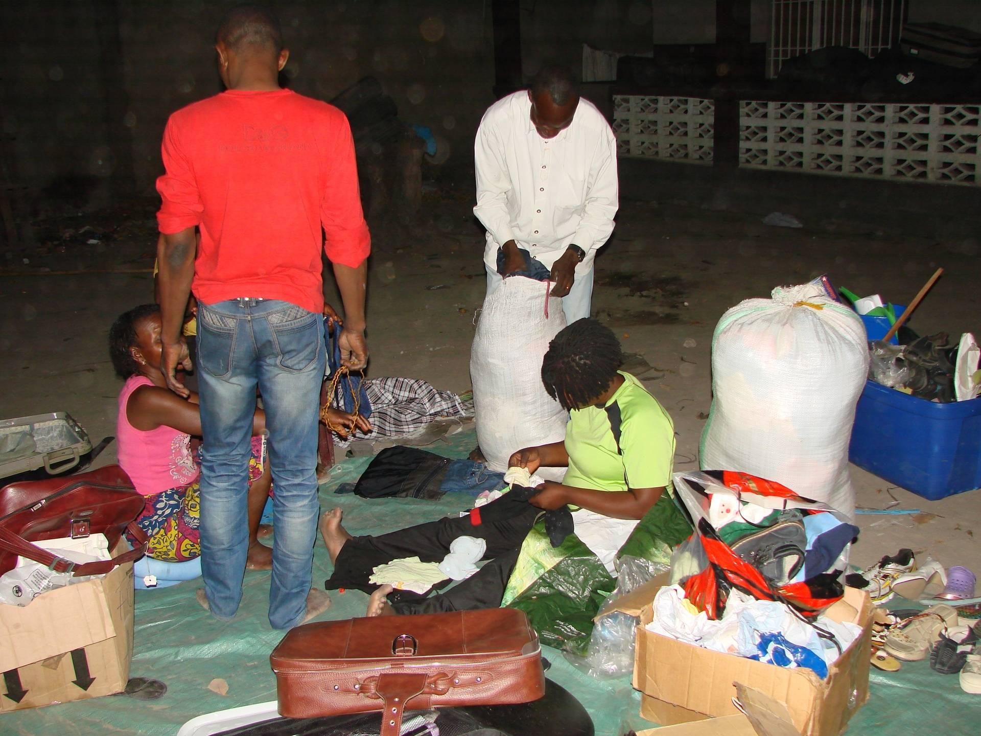 Distribution de dons 14