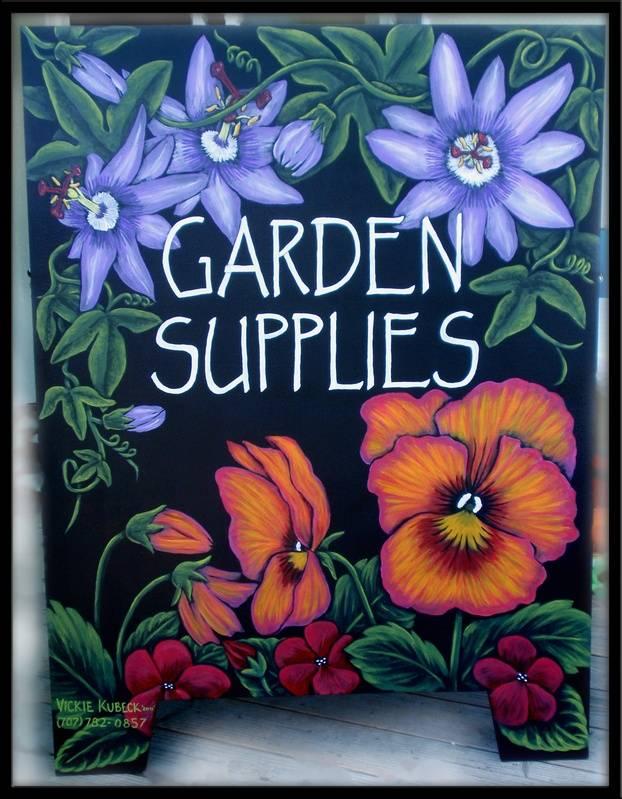 Garden Sign (Side 1)