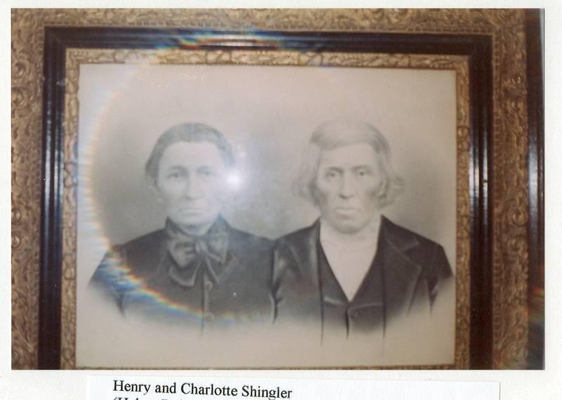 Henry and Charlotte Shingler