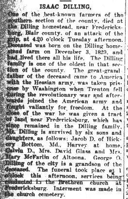 Dilling, Isaac 1908