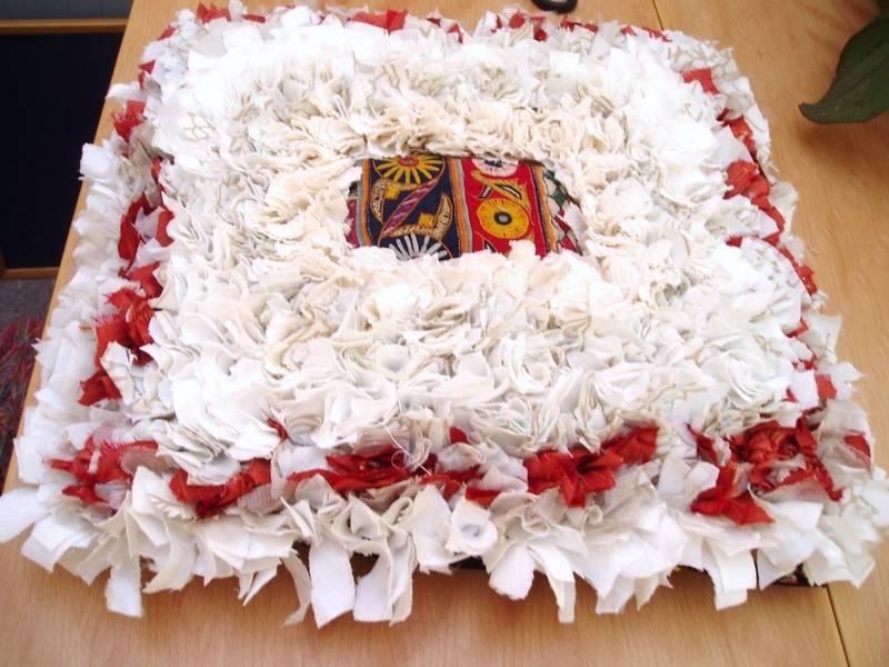 Hemp/Silk/Cotton Cushion