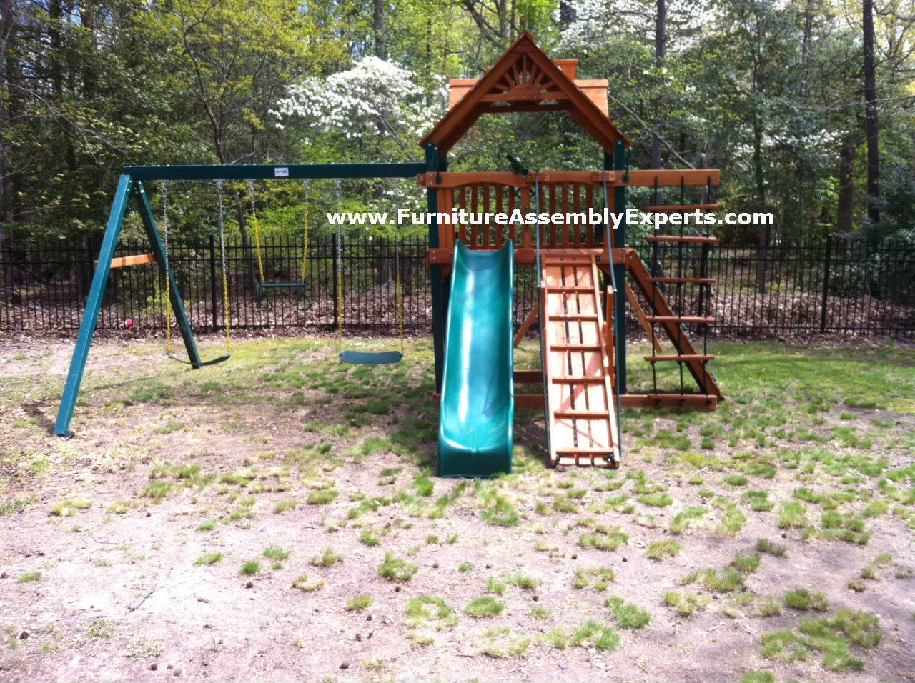 gorilla swing set assembly service in Washington DC