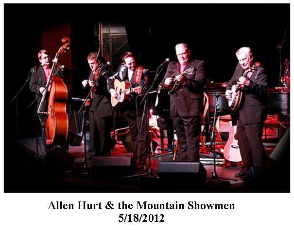 Allen Hurt & Mountain Showmen, 05/18/2012