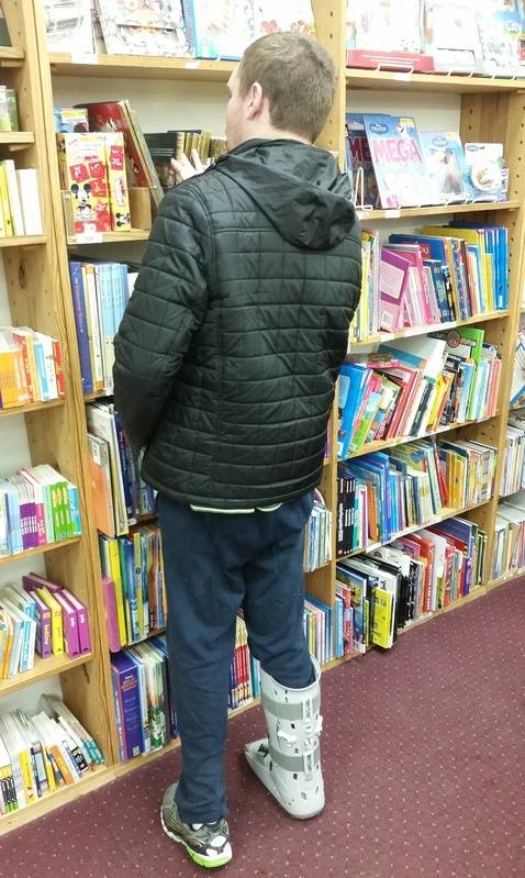 Half Price Books and Boot