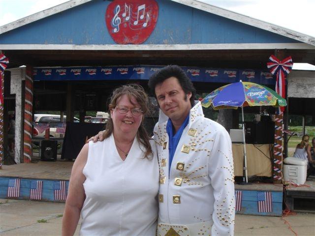 with Gloria at Osowski's