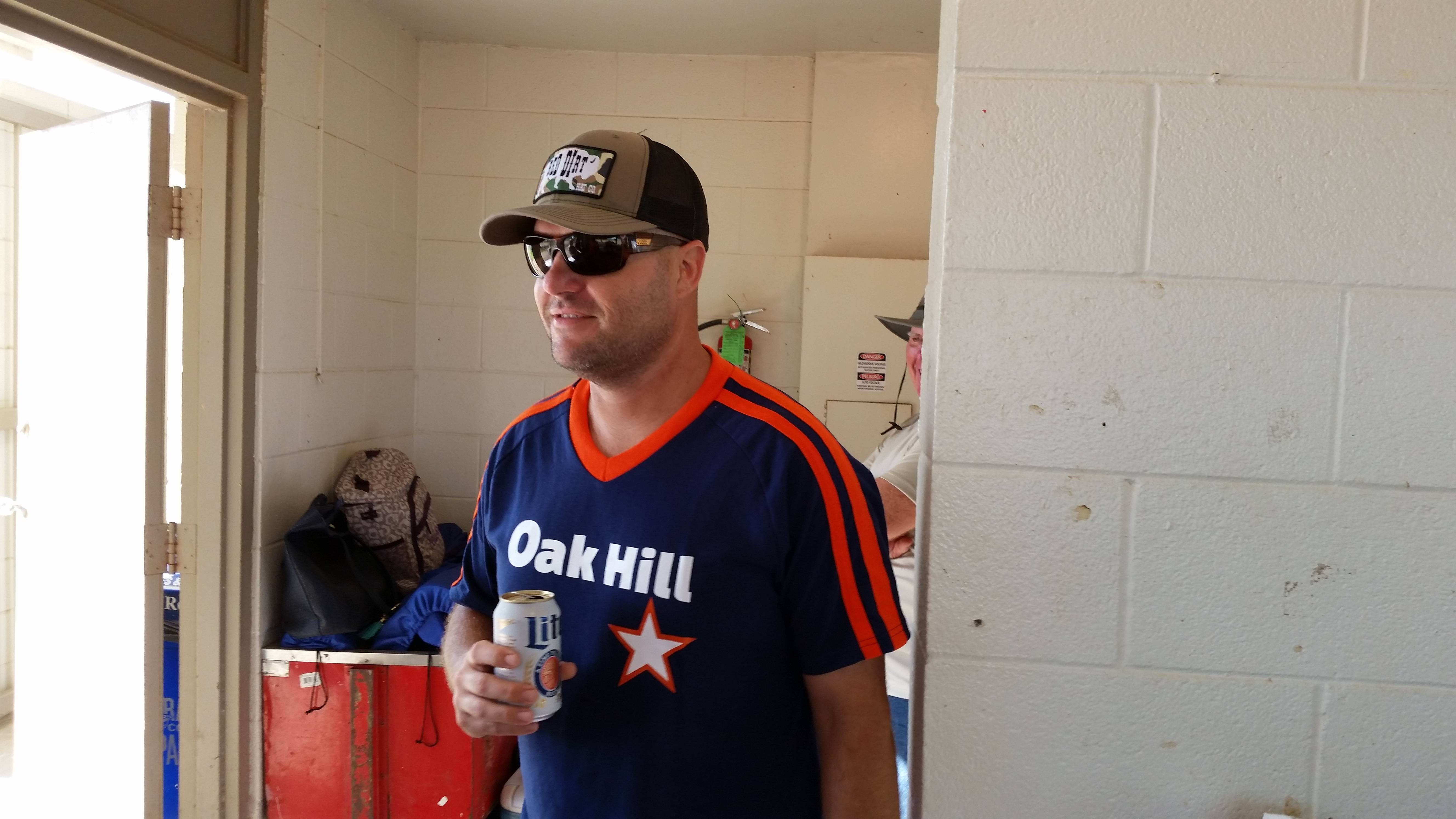 Concession manager Rusty Bergman