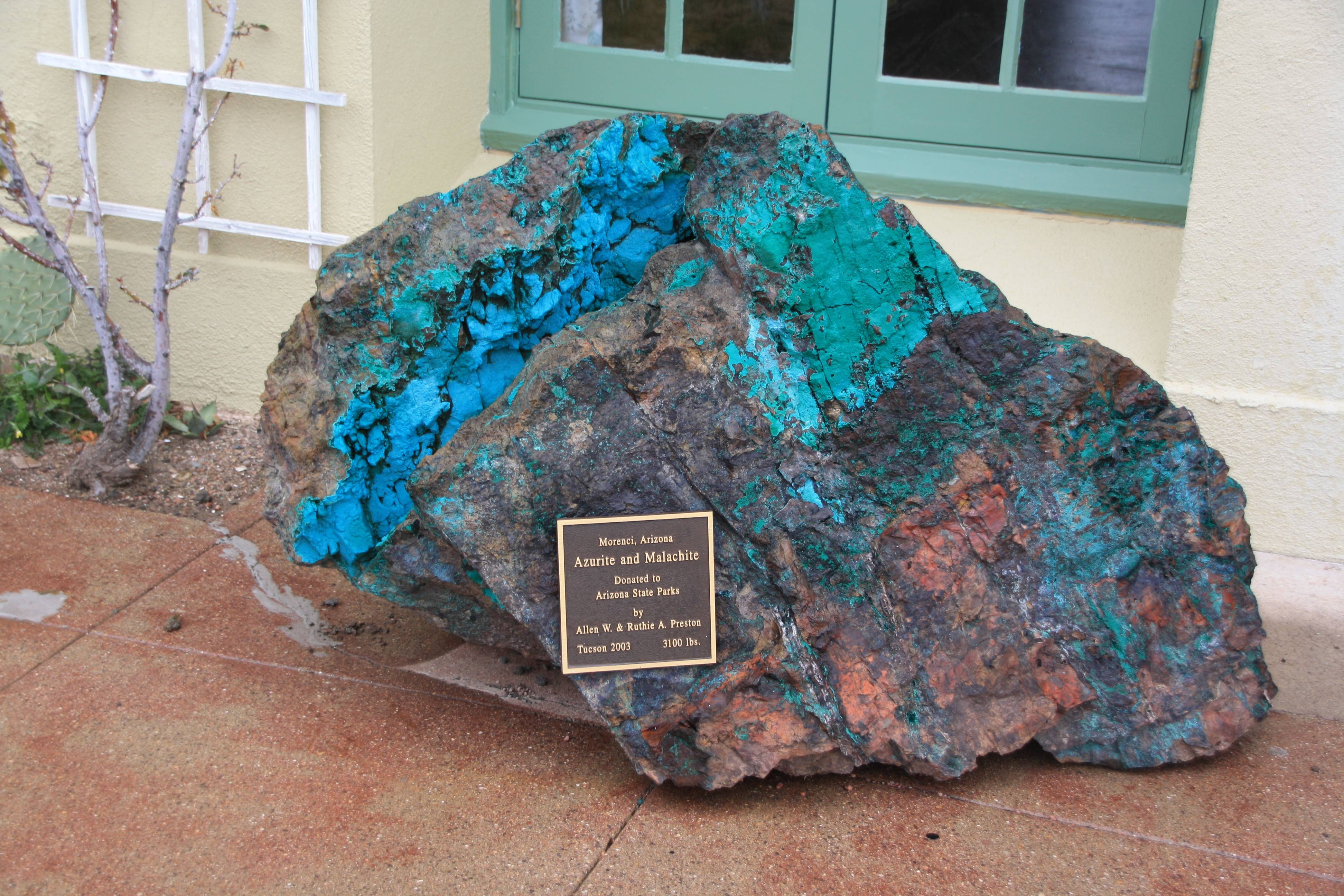 Copper ore in Jerome AZ