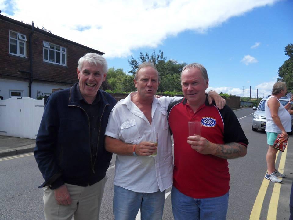 Lloyd Ryan, Mal Sanders & Bob Barratt