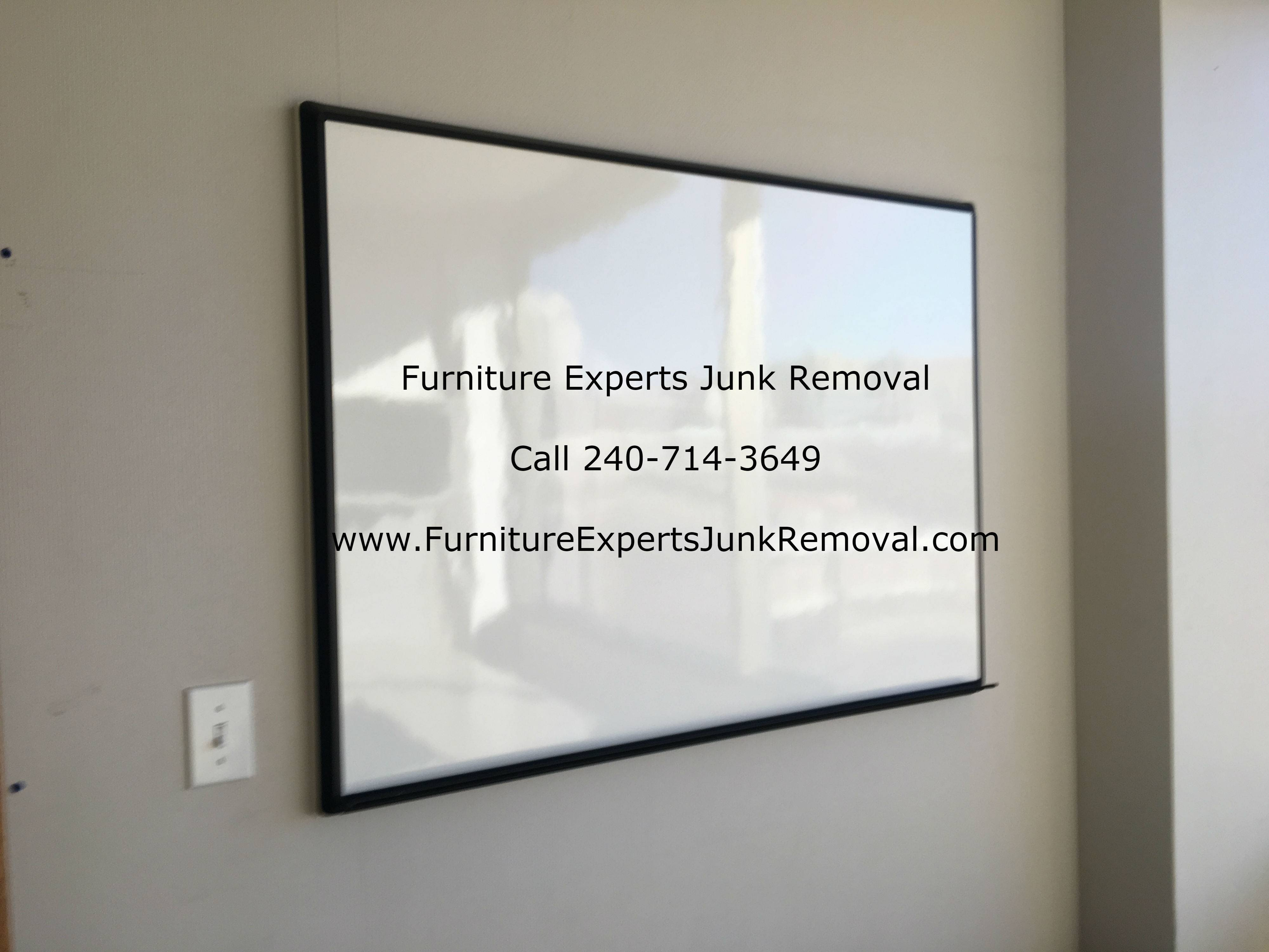 Junk office furniture removal in Bethesda MD