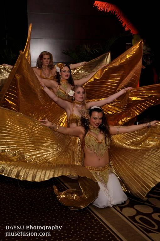 Group Wings Dance