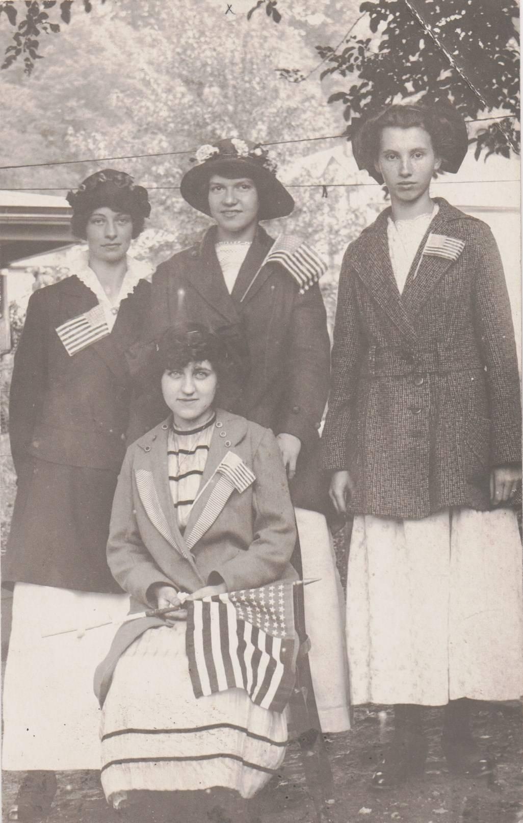 Patriotic Ladies
