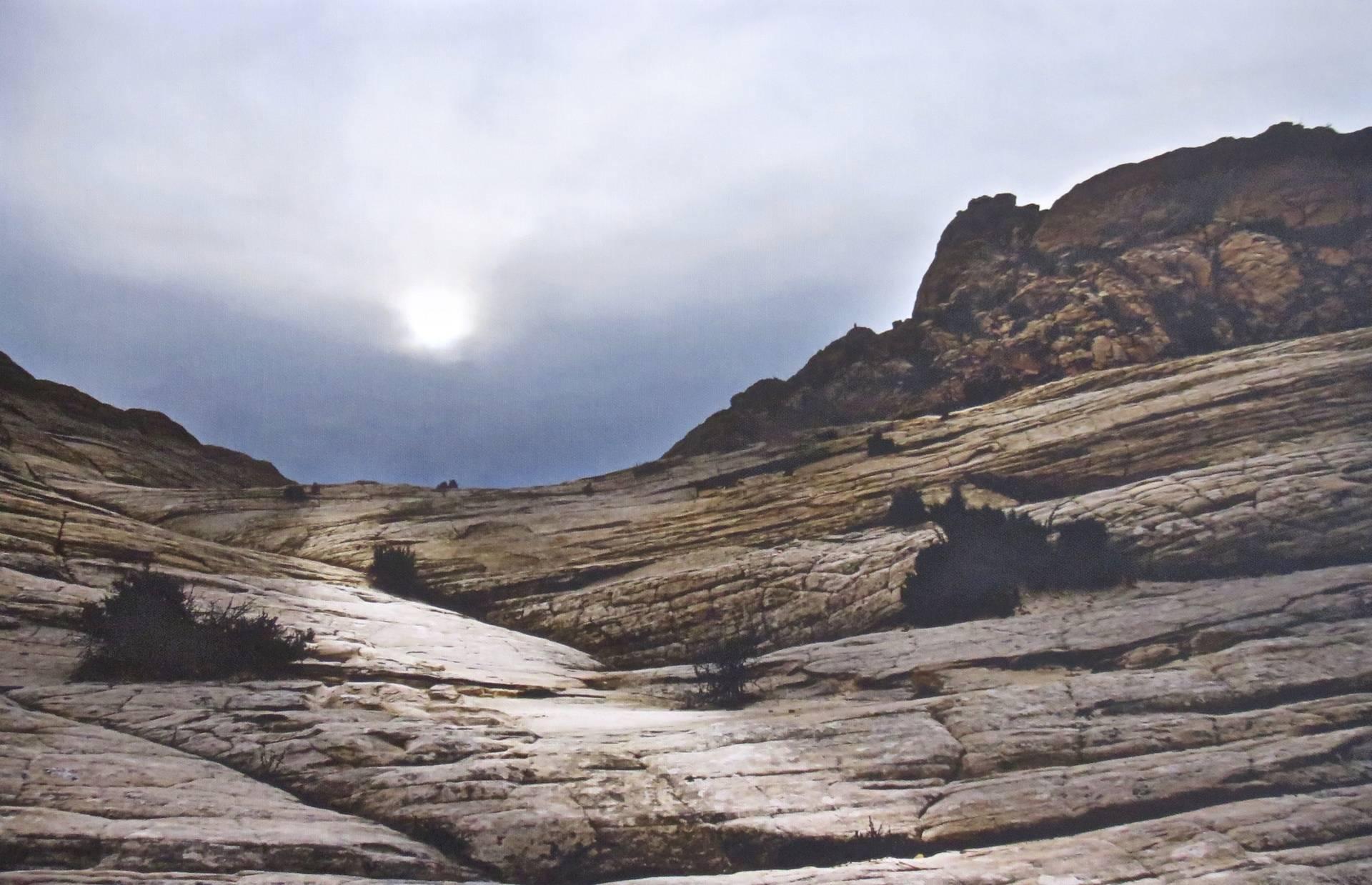 Winter Sun over White Rocks
