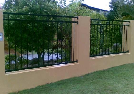 Vertical Bar Fence Infill Panels