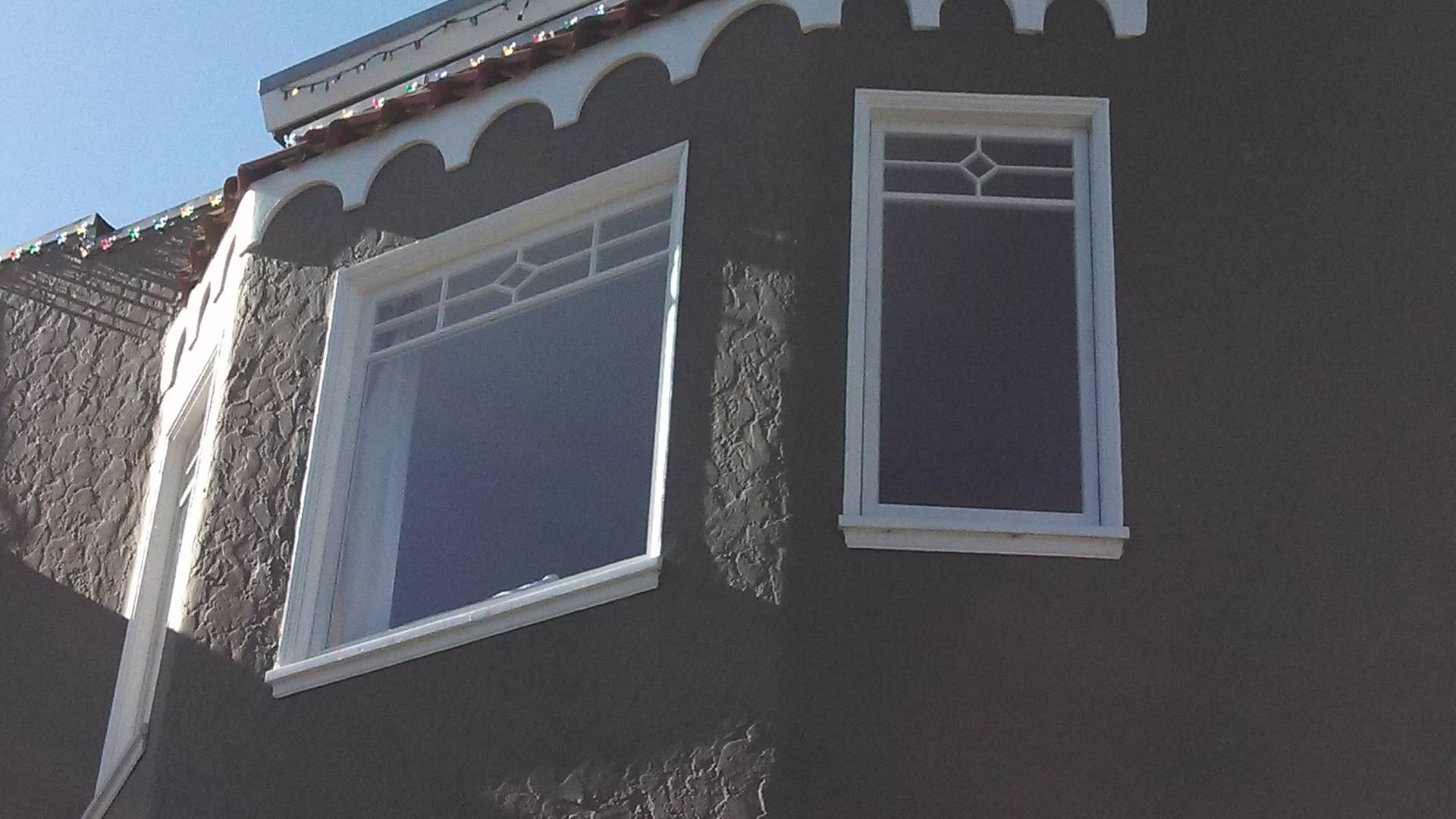 New wood windows