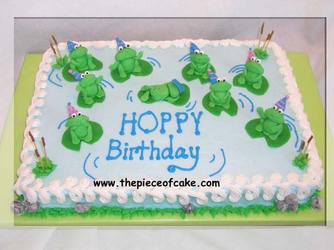 Hoppy B'day Cake