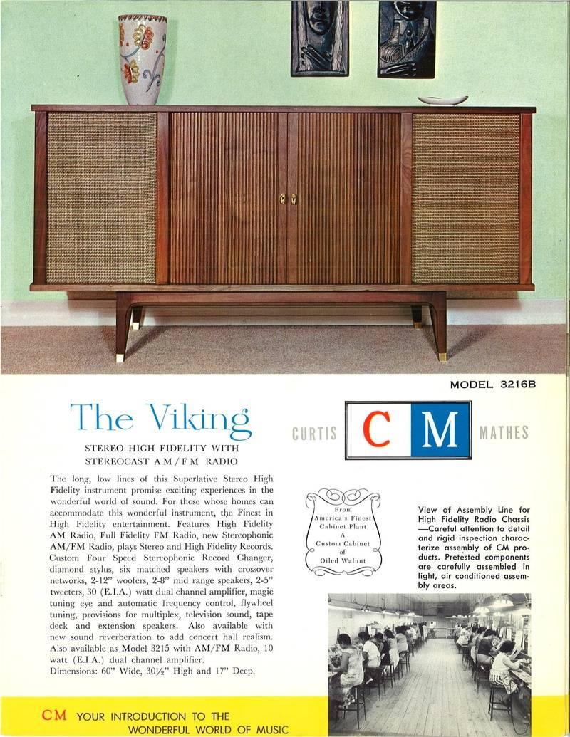 The Viking Model 3216B