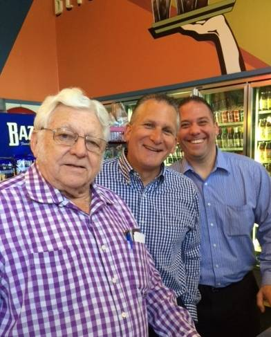 Ernie Hoffmann (Owner W&H Stampings) Lou Desepoli (Desepoli Wealth Management) Jason Volini (CPA)