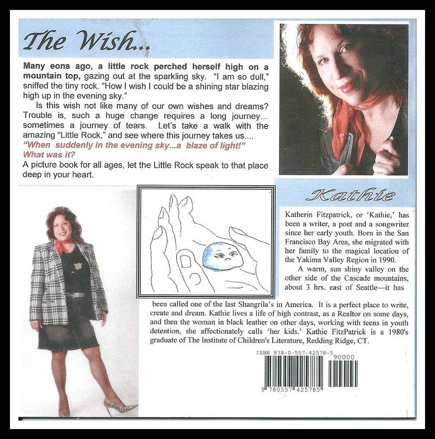 The Wish back cover
