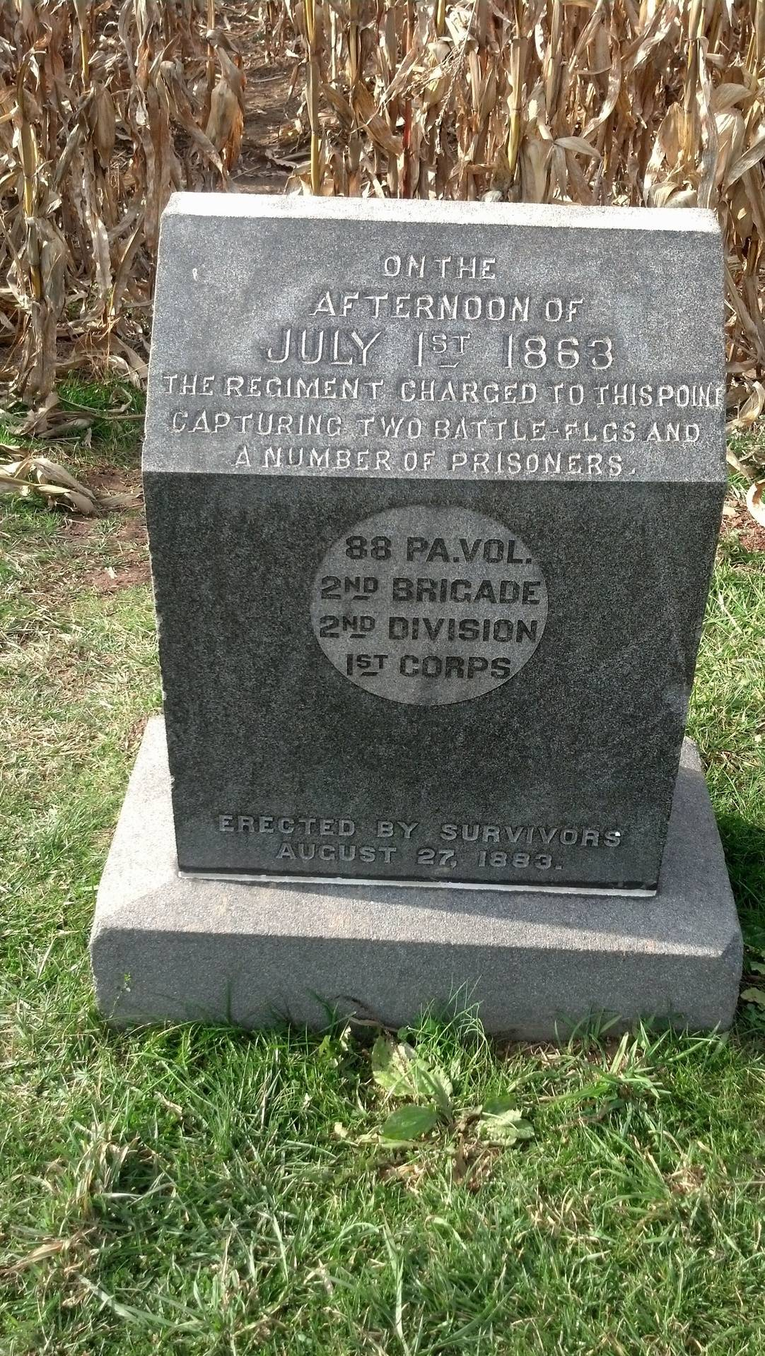 Marker for Iverson's Pit