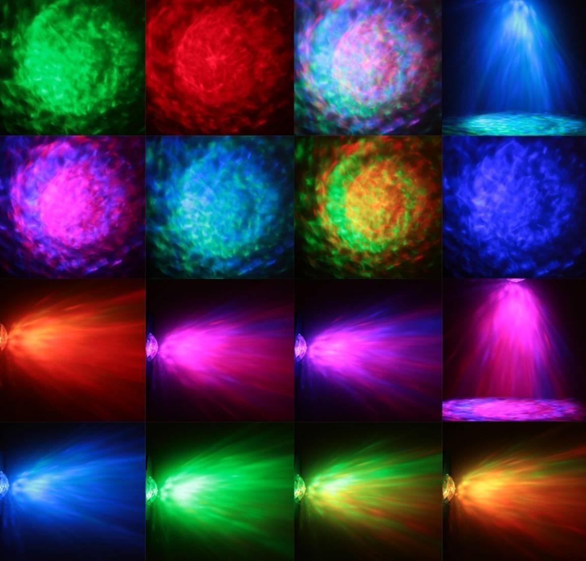 LED Water Ripples Lighting