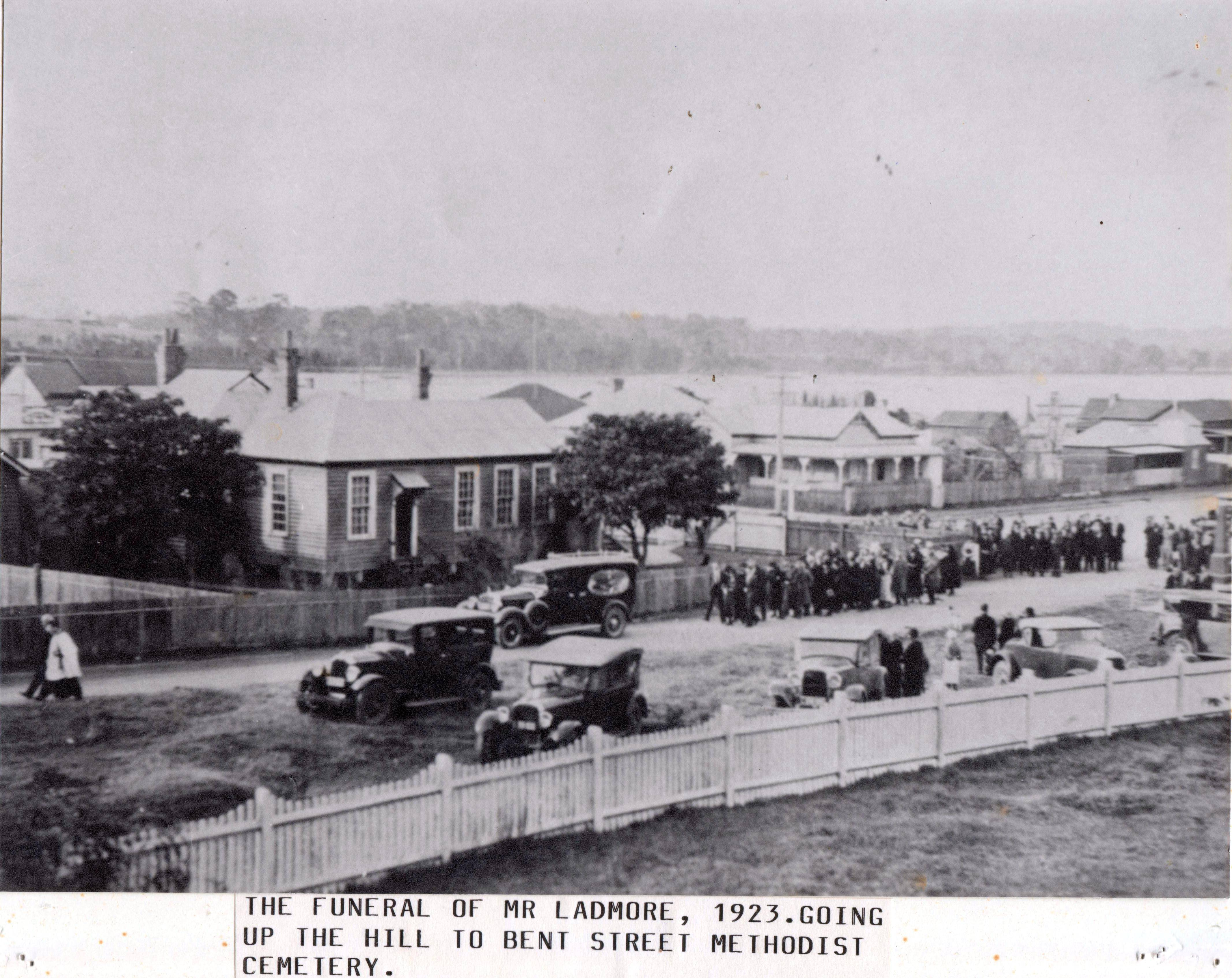 Mr. Ladmore's Funeral, 1923