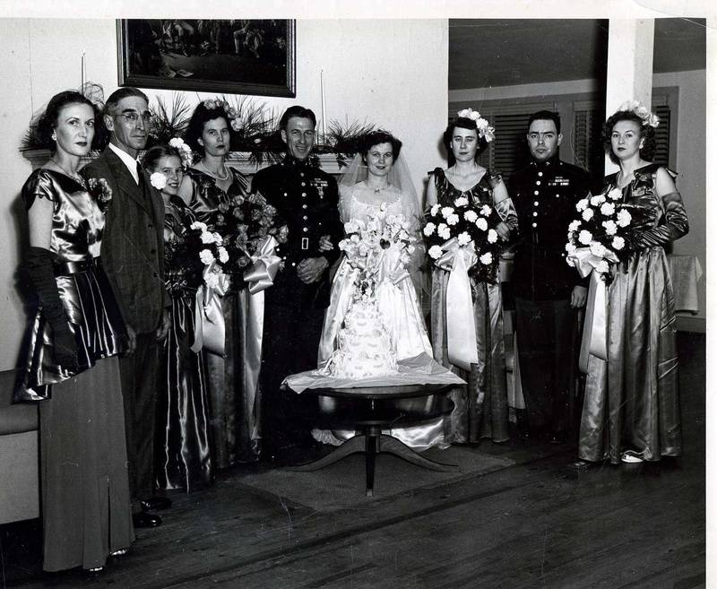 Margaret Gurganus wedding to Leon Fabian DeVillier
