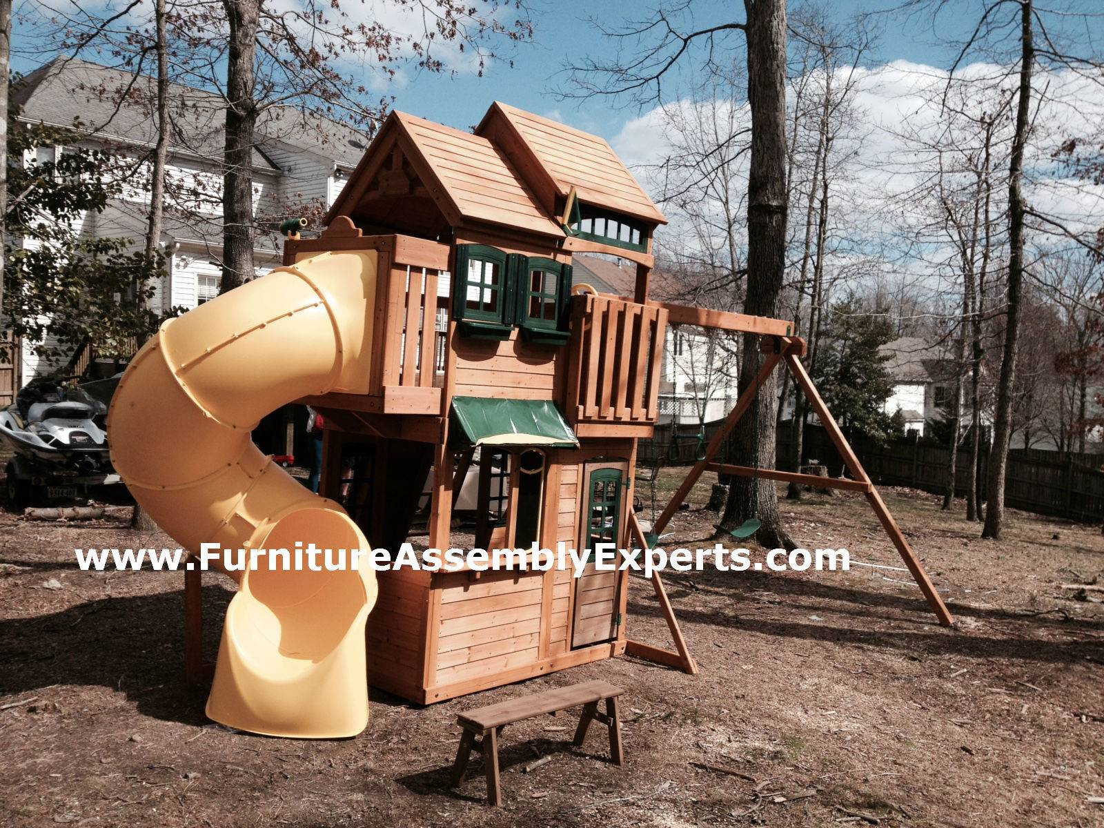 backyard playset assembly service in bryans road MD