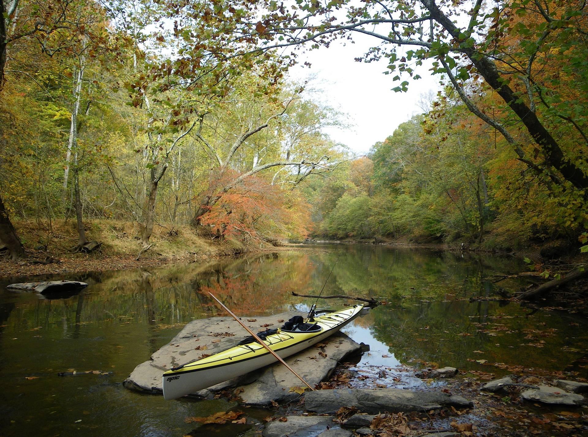 Bull Run Creek in Virginia