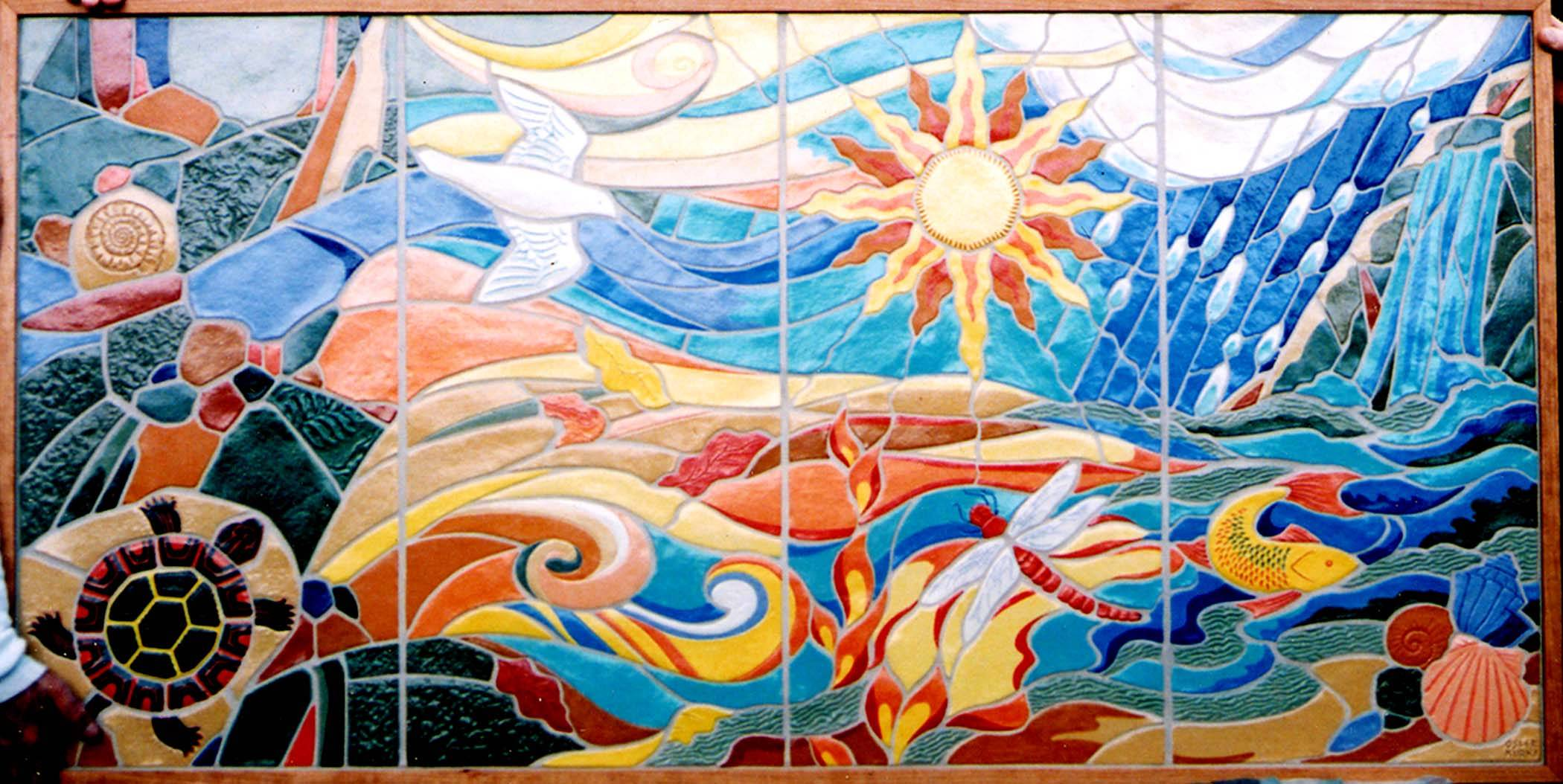 The Four Elements: Earth, Air, Fire Water