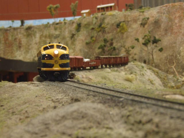 B 75 with a mixed freight
