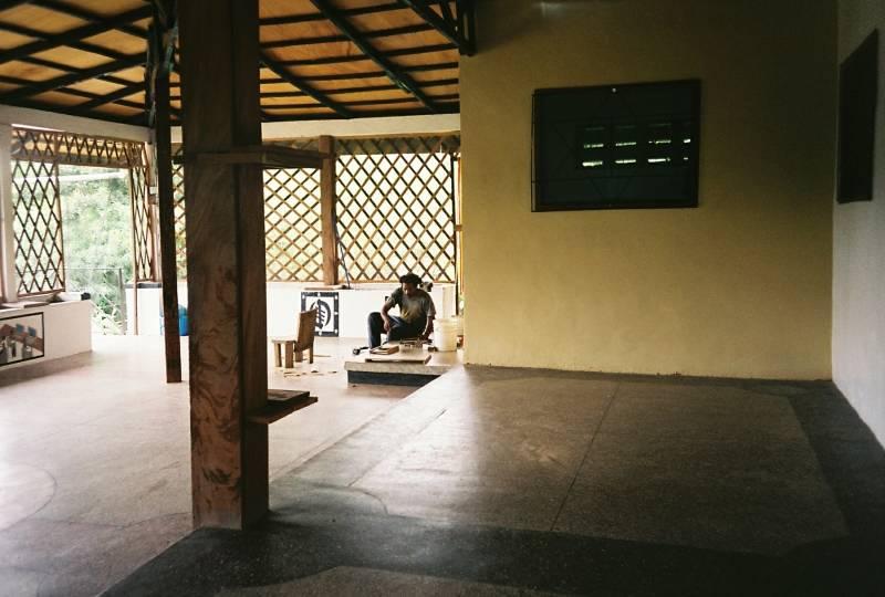 veranda and kitchen