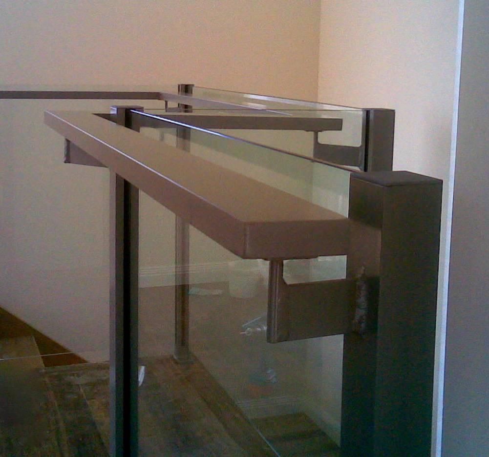 Glass Balustrade with Grab Rail