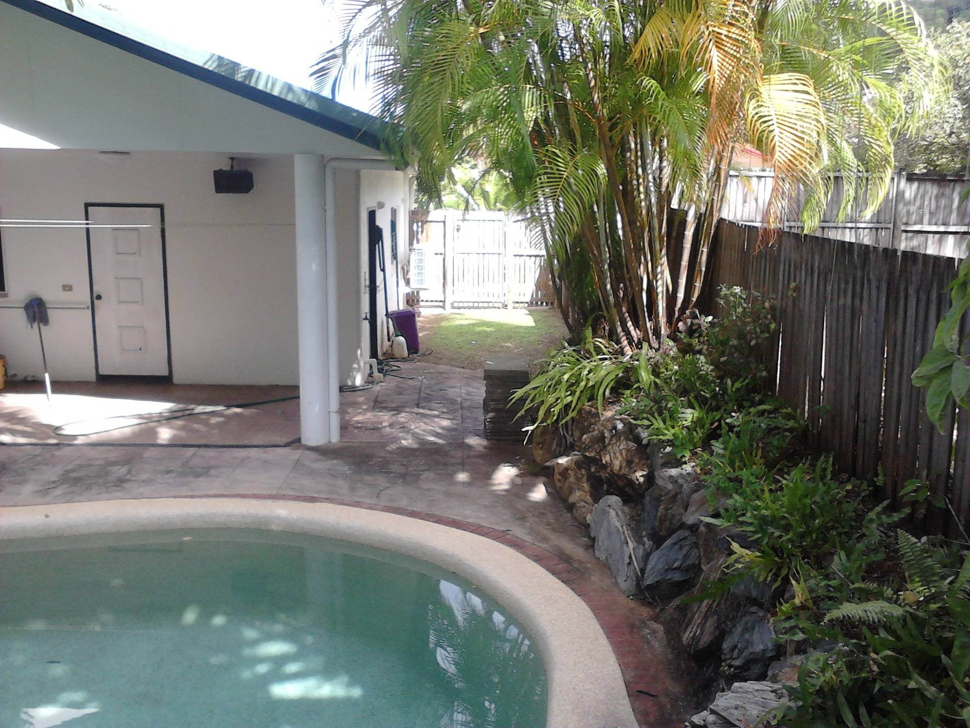 Side Pool Area After