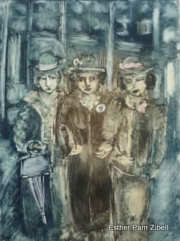 Three ladies 1