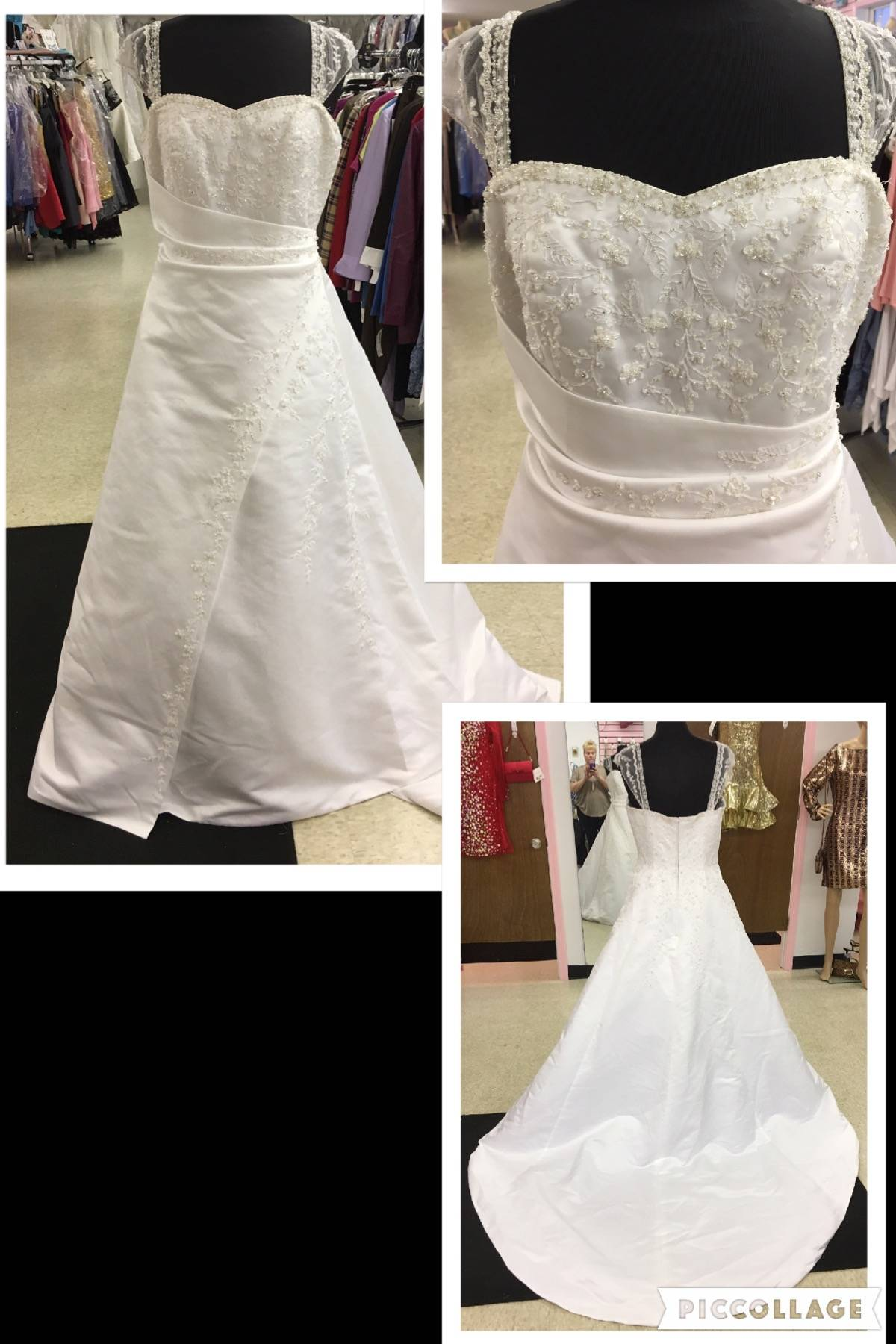 NWT SIZE 16 BRIDAL GOWN WEDDING GOWN $300.00