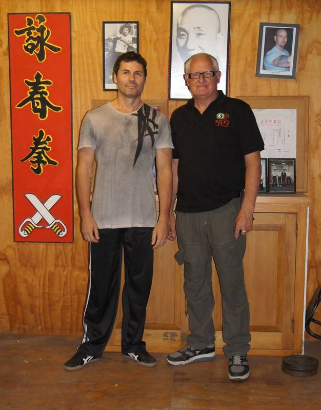 Paul Woods & Kevin Xmas 2011