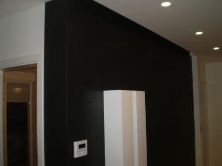 Crna tapeta sa visokim sjajem
