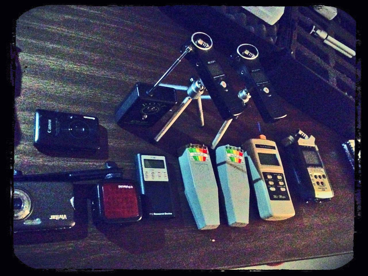 A small spread of gear