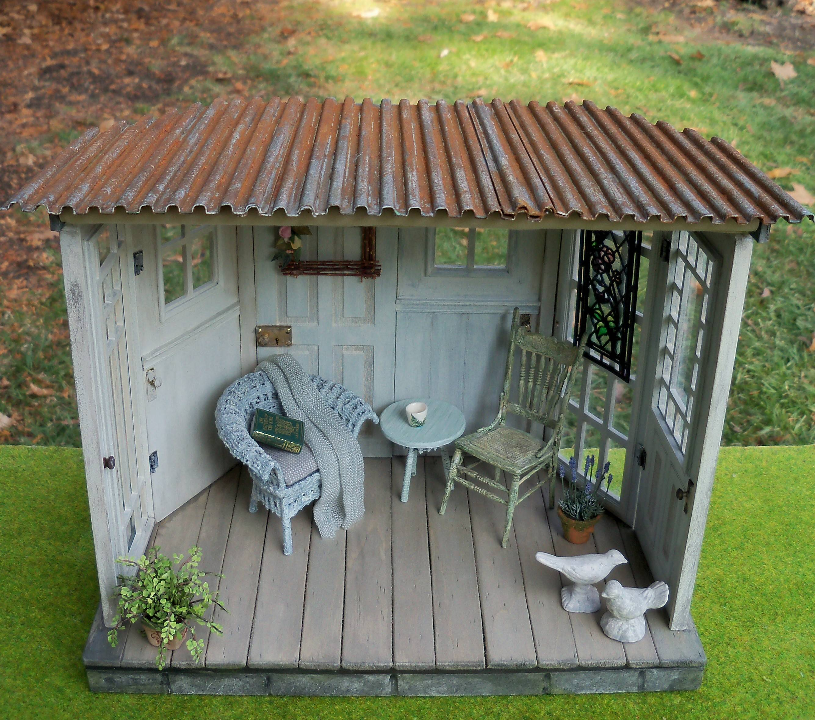 Garden Room roof view