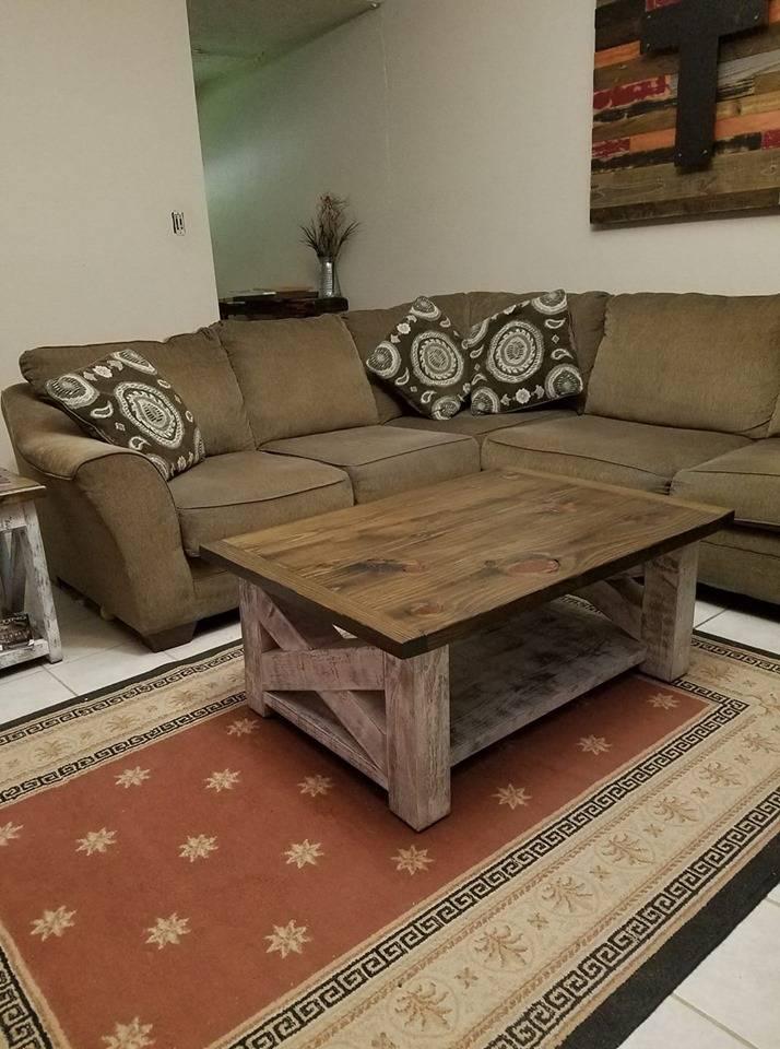 Farm house coffee table