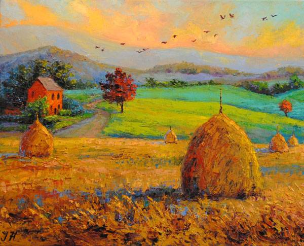 Autumn at the countryside.